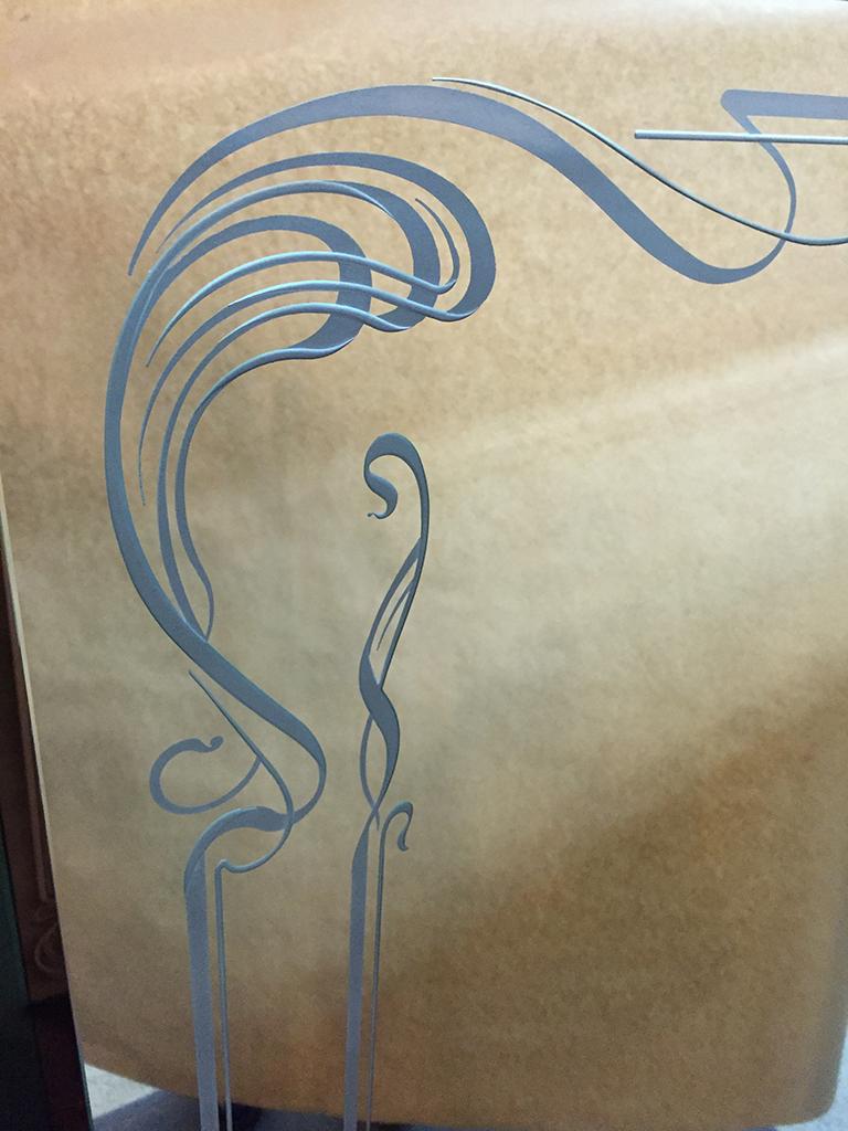 Gravure sur miroir miroiterie st luc for Gravure sur miroir